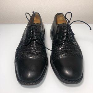 Mezlan Valencia leather cap toe shoe men's size 7